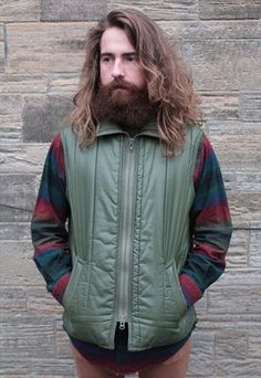 Vintage Early 1990's Barbour green sleeveless body warmer gilet jacket @36.00 - Sale @18.00