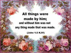 John 1:3 KJV
