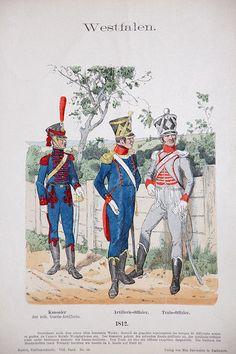Westfalen 1812 – Uniformenkunde – Richard Knötel – VIII- Planche 34