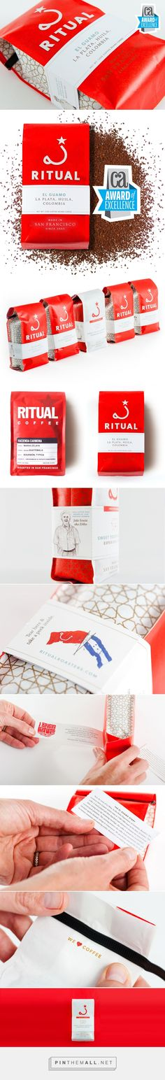 Ritual - Feel Good Coffee - Packaging of the World - Creative Package Design Gallery - http://www.packagingoftheworld.com/2016/10/ritual-feel-good-coffee.html
