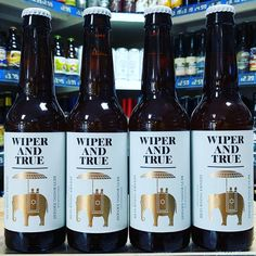 Returning Ernest - 7% English & US hopped IPA from @wiperandtrue available now