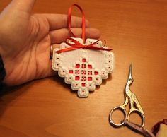 Humming Needles: Finishing The Hardanger Ornaments - Part 2