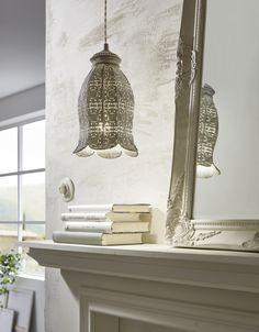 Eglo Lighting / Vintage Patina Green Moroccan Style 1 Lamp Pendant Light