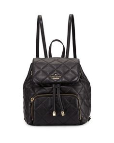 emerson+place+jessa+leather+backpack,+black+by+kate+spade+new+york+at+Neiman+Marcus.