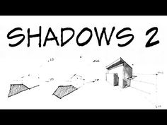 How To Draw Perspective Shadow Part 2- Architecture Daily Sketches - YouTube