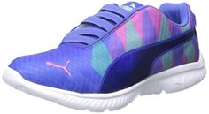 PUMA Womens Fashin Alt Triangle Sportstyle Sneaker Dazzling BlueMint 75 B US * Want additional info? Click on the affiliate link Amazon.com on image.