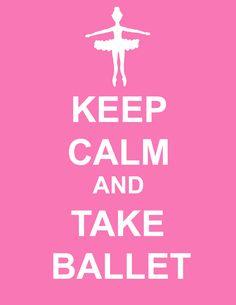Oh yeah! Kick my butt. Plié, curtsy, arabesque! Love it!