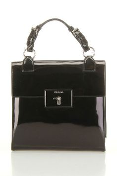 Prada Spazzolato Handbag In Black – Beyond the Rack - Women's Handbags Prada Purses, Prada Bag, Prada Handbags, Handbags On Sale, Luxury Handbags, Fashion Handbags, Purses And Handbags, Fashion Bags, Designer Handbags