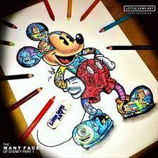Resultado de imagen para little sams art Disney Pixar, Disney Rapunzel, Cartoon Tattoos, Disney Tattoos, Disney Artwork, Disney Drawings, Colorful Drawings, Cool Drawings, Dance Memes