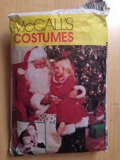 McCalls Costume Pattern 8992 Santa Costume Bag and by SplashOfLuv