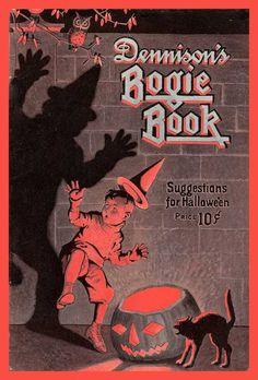 1923 Dennison's Bogie Book Vintage Halloween
