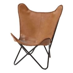 Living U0026 Co Replica Butterfly Chair Tan