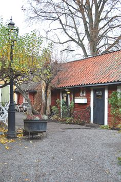 Tant Brun coffee house in the oldest town in Sweden. A 45 min drive from Stockholm.