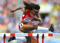 Brianna Rollins- American Track and Field Hurdler American Athletes, Female Athletes, Brianna Rollins, Olympic Sports, Hurdles, Track And Field, Athletic Women, World Championship, Sports Women
