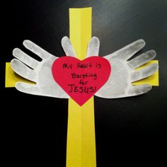 Sunday School Projects | Sunday School class valentines project. | I love SUNDAY SCHOOL