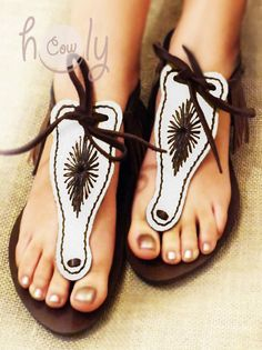 Sandals Leather Sandals Handmade Sandals Womens by HolyCowproducts