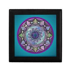 Celtic Mandala and Celtic Knot Gift or Jewelry Box  #Celtic  #mandala