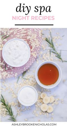 How to Create a Luxurious DIY Spa Night at Home DIY beauty treatments that you can make at hom Diy Spa, Ashley Brooke, Honey Facial Mask, Facial Masks, Diy Beauty Treatments, Hair Treatments, Moisturizing Face Mask, Face Cleanser, Summer Beauty Tips