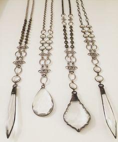 One of a kind necklaces. Lisajilljewelry@gmail.com