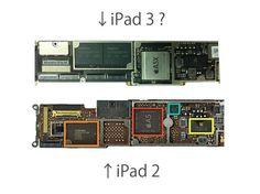 iPad 2 and 3 Logic Board