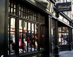 Hatchard's, Piccadilly | London's oldest bookshop opened its doors in 1797 and has been providing the city with reading material ever since. The Piccadilly establishment retains its original, antique style and offers an incredible selection, not to mention a really cool subscription scheme.