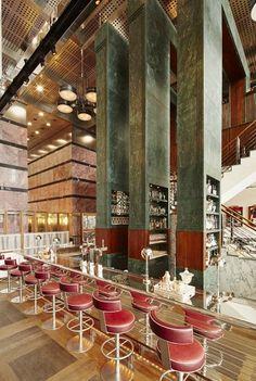 Architecture d'intérieur | Un projet par David Collins | #design, #décoration, #luxe. Plus de nouveautés sur magasinsdeco.fr/
