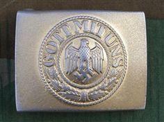 Reproduction German Early WWII Kriegsmarine Aluminum Belt Buckle
