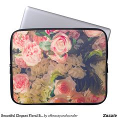 Choose from a variety of Elegant laptop sleeves or make your own! Shop now for custom laptop sleeves & more! Custom Laptop, Best Laptops, Best Sites, Personalized Products, Floral Bouquets, Laptop Sleeves, Elegant, Beautiful, Collection