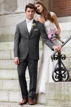 Suit Available at Ella Park Bridal | Newburgh, IN | 812.853.1800 | Michael Kors - Ultra Slim Steel Grey Sterling Wedding Suit