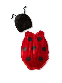 Just Pretend by Wyla Baby Ladybug Halloween Costume (Red)