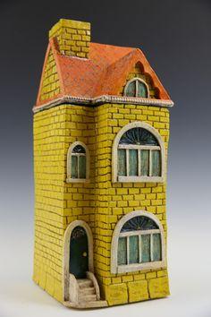 Yellow Row House