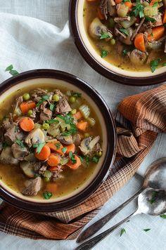 Pot Roast Soup {Grain-Free; Gluten-Free}