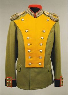 Chief of the 14th Grenadier Regiment, Georgia, Lieutenant Alexei Romanov's uniform.