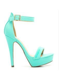 Newest Solid Color PU Dress Sandals