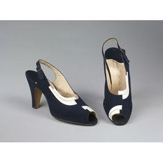 Pair of shoes circa 1935