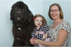 The Newfoundland Dogs brought smiles to the faces of seriously ill Bristol youngsters