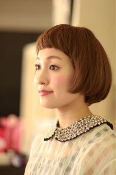 ヨーロピアンなレトロボブ | 八事・平針・赤池の美容室 RONNDのヘアスタイル | Rasysa(らしさ)