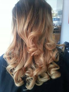Same stronger Ombre style from the back
