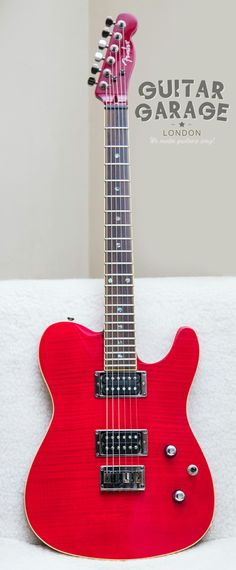 2003 Fender Mahogany Flame Maple Top Telecaster set neck