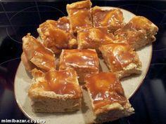 Karamelový větrník na plechu s podrobným postupem a fotkami :) Sweet Recipes, French Toast, Food And Drink, Sweets, Beef, Cooking, Breakfast, Desserts, Meat