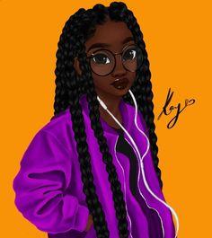 Wallpaper black girl drawing 57 new Ideas Black Love Art, Black Girl Art, My Black Is Beautiful, Art Girl, Black Girl Quotes, Natural Hair Art, Natural Hair Styles, Drawings Of Black Girls, Black Girl Cartoon