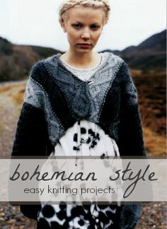 Bohemian Style: Easy Knitting Projects