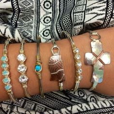 You can never have too many Earth Grace bracelets!