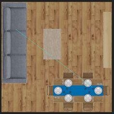 15 formas de distribuir los muebles en un salón cuadrado Living Comedor, Cool Rooms, Diy Room Decor, Home Decor, House Design, This Or That Questions, Living Room, Furniture, Furniture Layout