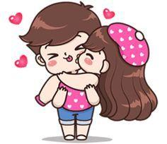Safina yes ki no Love Cartoon Couple, Cute Couple Comics, Cute Couple Art, Cute Comics, Cute Bear Drawings, Cute Couple Drawings, Cute Girl Drawing, Cute Love Stories, Cute Love Gif