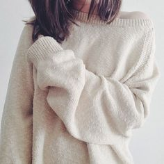 oversized and cozy