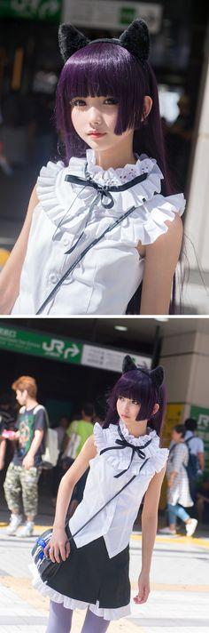 Ore no Imouto ga Konna ni Kawaii Wake ga Nai,Anime,аниме,Anime Cosplay,Gokou Ruri,Kuroneko
