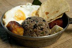 Desayuno costa rica | Gallo Pinto, Desayuno Tipico, Costa Rica