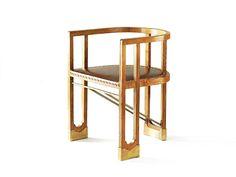 ca. 1901 Armchair : By Hans Vollmer