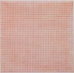 Untitled , United States, 1963, by Agnes Martin.